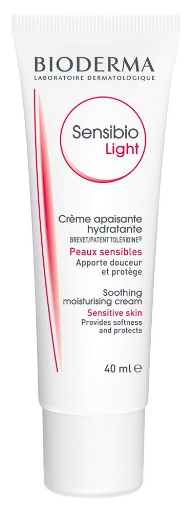 Bioderma Sensibio Light Cream or Face Moisturizer, Light Cream, Face Moisturizer