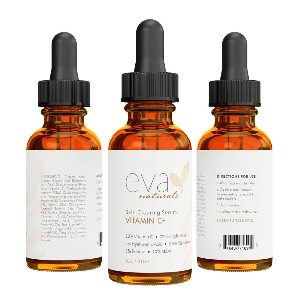 Eva Naturals Skin Cleaning Vitamin C Serum
