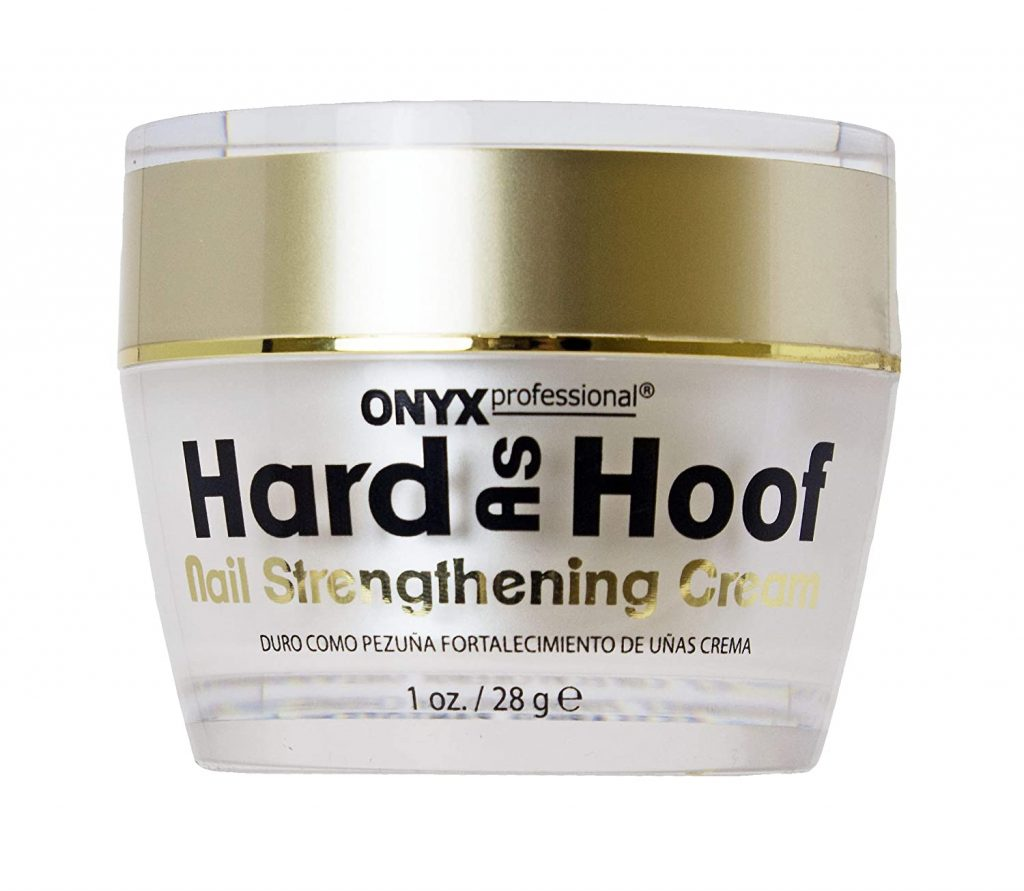 Hard As Hoof Nail Strengthening Cream with Coconut Scent Nail Strengthener